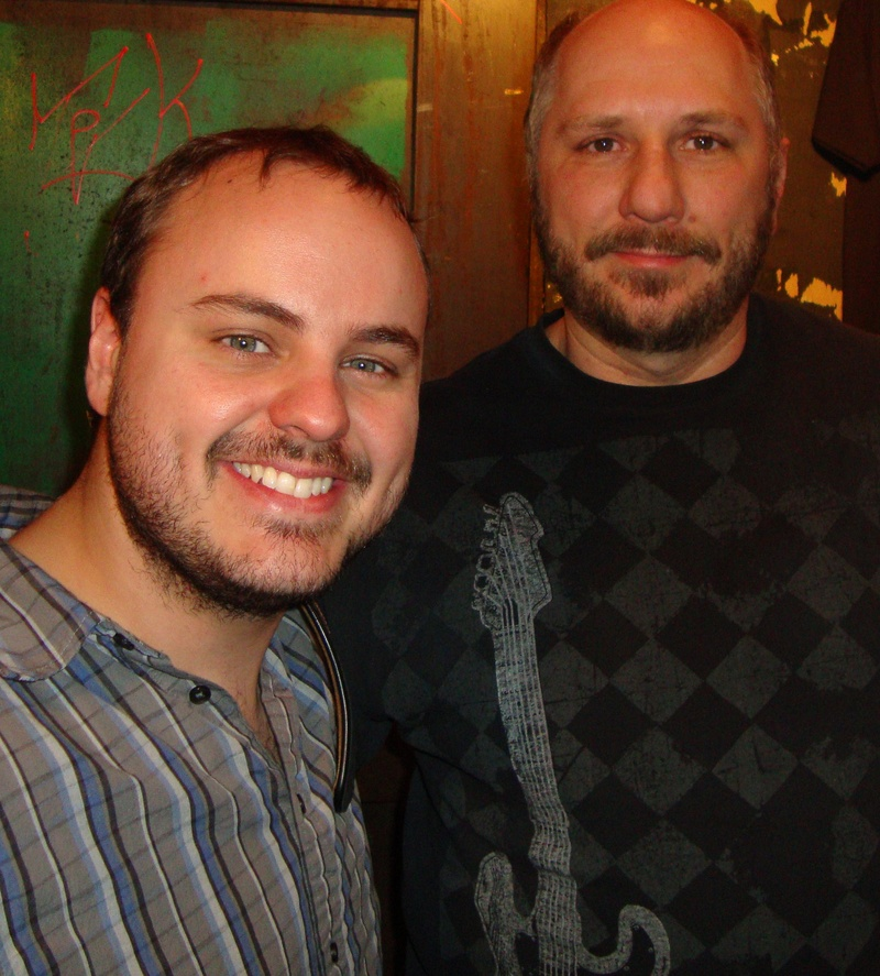 Me and Andy Mckee at Newport Kentucky
